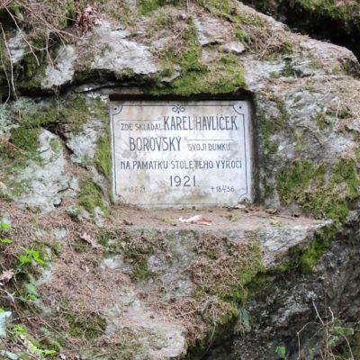 Pamětní deska K. H. Borovský