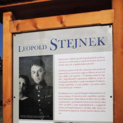 Legionář Leopold Stejnek