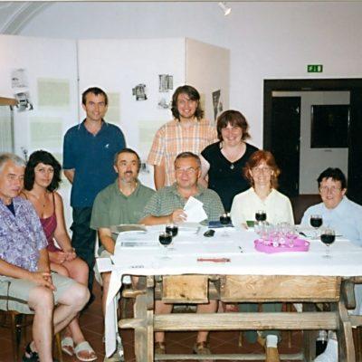 Muzejníci na jaře 2006