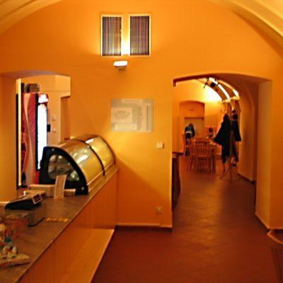 Cukrárna v Schumpeterově domě