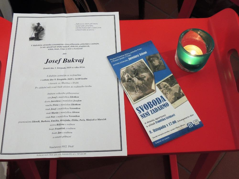In memoriam - Josef Bukvaj