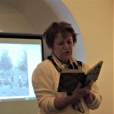 Přednáška paní Zelené