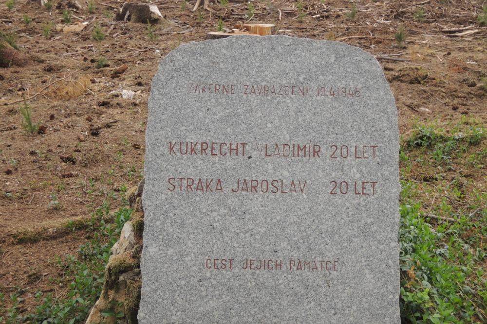 Pomník zastřelených hochů